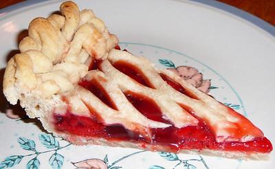 Cherry Vino Cotto Pie  Recipe and photo by Montillo Italian Foods, copyright January 17, 2011